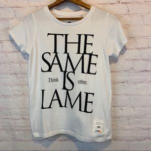 The Same is Lame Uniqlo Pharrell Williams t-shirt